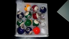 Porta-chaves das bolas de bilhar