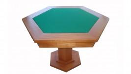 Mesa Hexagonal para cartas com gavetas