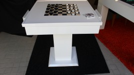 Mesa de jogo White Edition